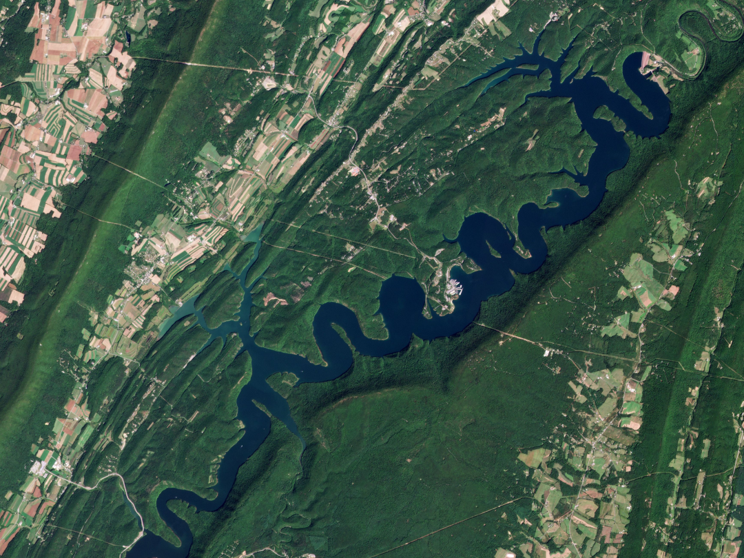 Satellite image by Planet